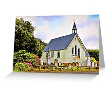 Community Church, Dover Greeting Card