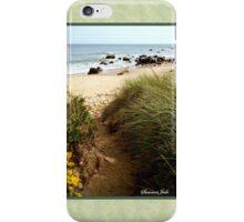 Block Island Pathway to the Sea iPhone Case/Skin