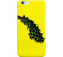 Green and Yellow Leopard Print Ripped Tear Design  iPhone Case/Skin