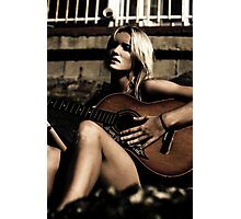 Midnight Musician Photographic Print