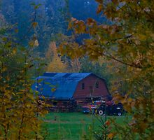 The Autunm Barn by peaceofthenorth