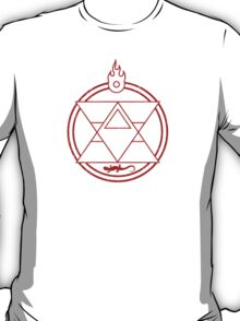 Flame Transmutation Circle T-Shirt