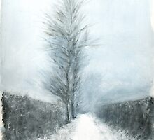 Winter Hedgerows by earthskyart