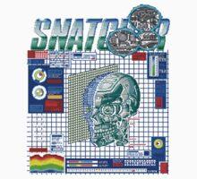 Snatcher (Sega CD) Logo v3.0 Kids Clothes