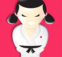 judo girl by matticchio