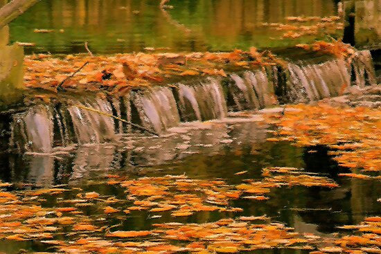 Fall WaterFall by Jo Nijenhuis