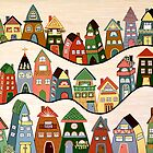 Neighbourhood by Lisa Frances Judd~QuirkyHappyArt