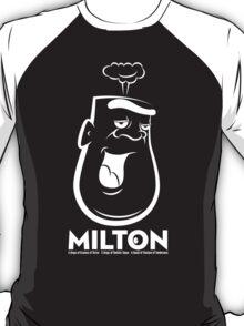 Milton the Monster - dark background T-Shirt