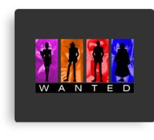 Wanted Lupin III Canvas Print