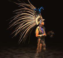 Aztec Dancer by Gene Praag