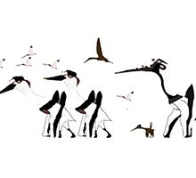 Pterosaurs party by ConorDaly