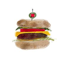 It's not just a burger. by Dawid Kita