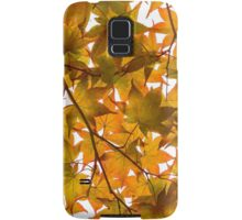 Under the Japanese Maple - Impressions Of Fall Samsung Galaxy Case/Skin
