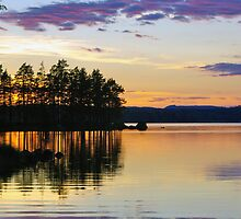 Summer Evening by MarianaEwa