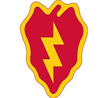 25th Infantry Division Photographic Print