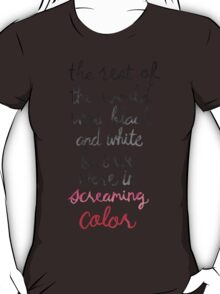 Screaming Color T-Shirt