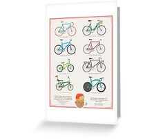 Bicycle Season Greeting Card