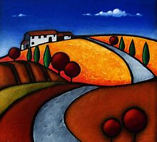 Umbrian Retreat by John Tindale