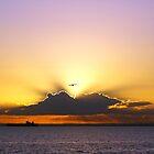 Sunset from Brighton by Rosie Appleton