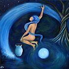 Drawing Down the Moon by earthskyart