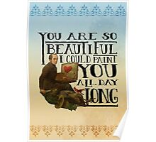 You Are So Beautiful Poster