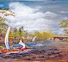 Tay Raft Race, Kenmore  by BillCowe