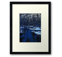 We were blind to the light..We were numb to the world and the breath of the still..Sent a chill thru the days..the cold of your breath..makes me remember..When we were dead Framed Print