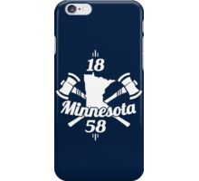Minnesota 1858 iPhone Case/Skin