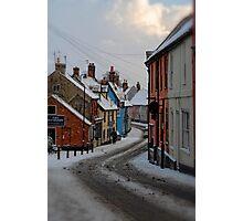 Bridge Street, Bungay, Suffolk, UK Jan 2010 Photographic Print