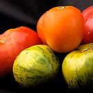Heirloom Tomatoes by DiEtte Henderson