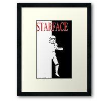 STARFACE Framed Print