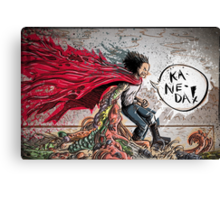Testuo from the movie Akira Canvas Print