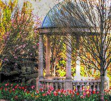 Stone Gazebo in the Venetian Gardens by Jane Neill-Hancock