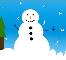 Mr. Snowman by badwolfpatronus