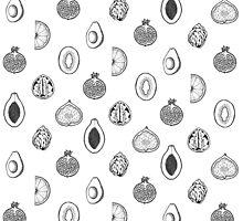 Fruits Pattern by byOli