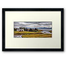 Across Iceland II Framed Print