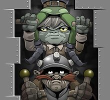 Powered by Goblins by claygrahamart