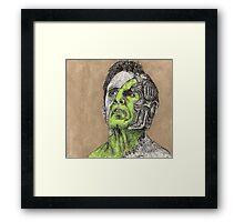 Primeval - Adam - BtVS Framed Print