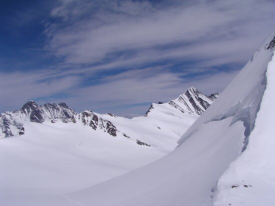 Near the Jungfraujoch by Laurie Puglia