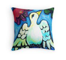 BIRD  OF  PERSEPHONE  1 Throw Pillow