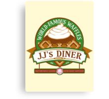 JJ's Diner Canvas Print
