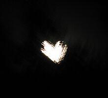 Heart Shaped Moon by Tammy F