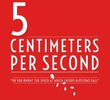 5 Centimeters per Second t-shirt / Phone case Kids Clothes