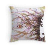 Fleeting Confusion Throw Pillow