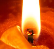 Candle Flame by franceslewis