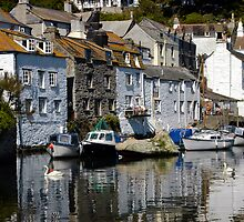 Polperro, Cornwall by rodsfotos
