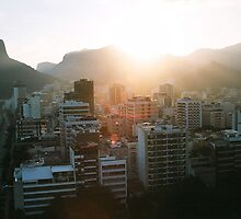 Rio Dusk by mrwphotography