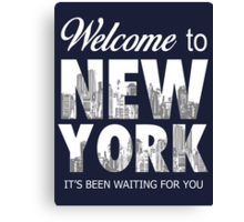 Taylor Swift - Welcome To New York2 Canvas Print