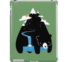 The Mountain Bear iPad Case/Skin