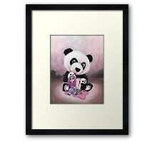 Candie and Panda Framed Print
